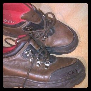 Low top rocky boots